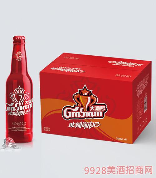 大�M冠啤酒此刻敬自己系列�X瓶