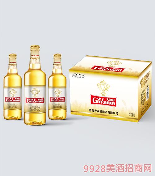 大�M冠啤酒此刻敬自己500ml瓶