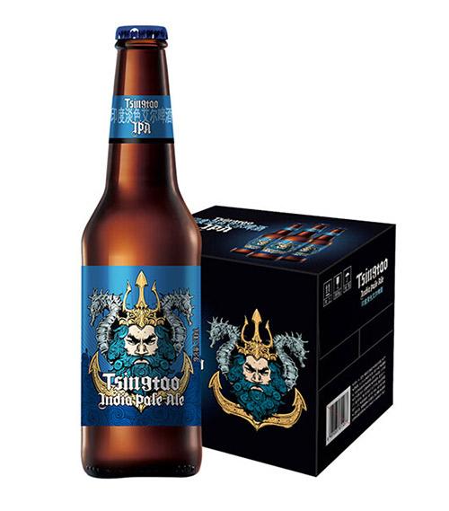 青�u啤酒IPA-14度330ml