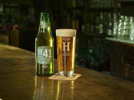 """喜力啤酒:正式推出 """"h41""""啤酒"""