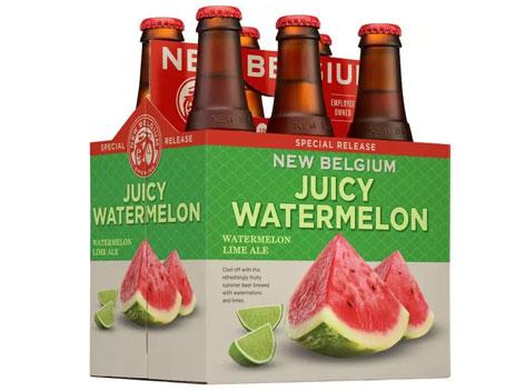 夏天快来了! 来杯New Belgium西瓜味的啤酒