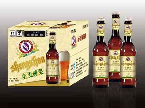 圣洲啤酒全麦原浆新品上市!!