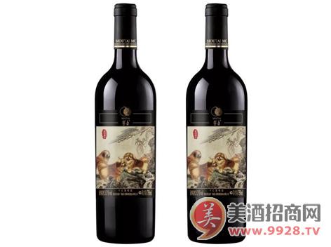 茅台葡萄酒生肖纪念酒—戊戌狗年即将荣耀问世