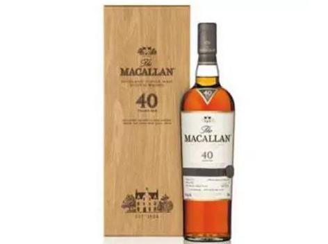 麦卡伦在雪莉橡木系列内添加了新的40年单一麦芽威士忌