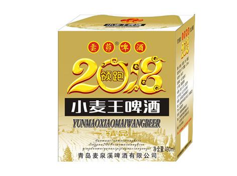 鼎力酒业小麦王啤酒,领跑2018