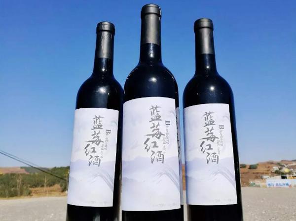 雾蒙蓝莓红酒750ml,采用优质原料,精心酿造