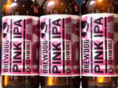讽刺性别收入差距,BrewDog推出粉色IPA