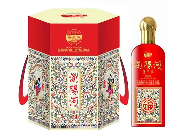 【中低端白酒新品】浏阳河酒满门福A30隆重上市!
