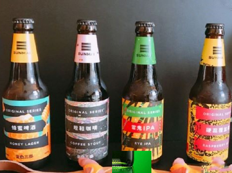 金色三麦推出7款精酿啤酒