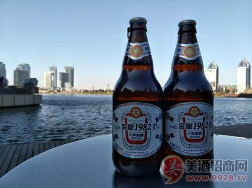 金星1982大师精酿原浆啤酒