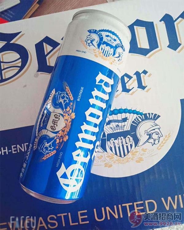 哥么纳啤酒细罐