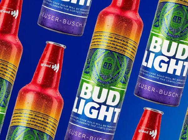 百威啤酒推出首款彩虹铝瓶淡啤