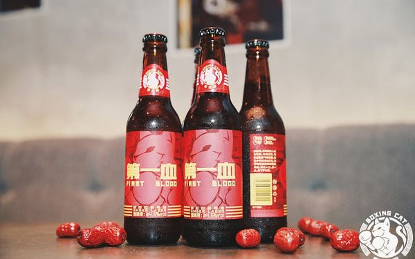 拳击猫精酿啤酒馆推出全新精酿啤酒--第 一血琥珀拉格