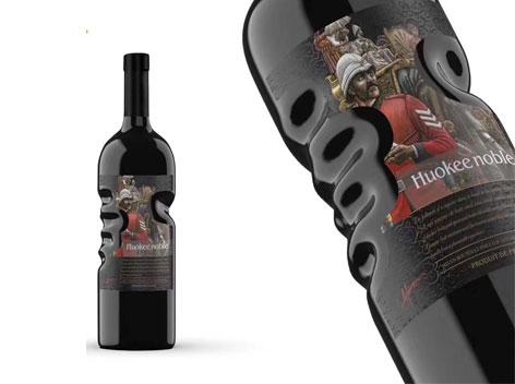 胡克尔贵族酒庄干红葡萄酒新品上市 爆款手抓瓶 您的尊贵之选