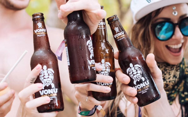 【发现美酒】VONU龟牌精酿拉格啤酒,口感微甜,适合夏日的饮品