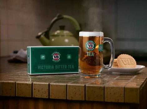 维多利亚啤酒推出VB茶,味道与澳洲啤酒相似