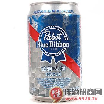 蓝带啤酒易拉罐330ml/罐