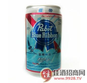 蓝带啤酒易拉罐330ml/罐 8P