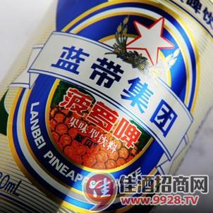蓝带菠萝啤330*24罐装