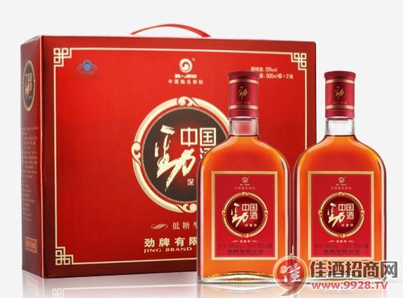500ml35度中国劲酒礼盒(低糖型)