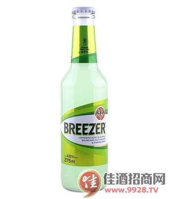 4.8°百加得冰锐朗姆预调酒青柠味275ml