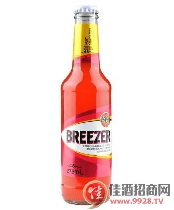 4.8°百加得冰锐朗姆预调酒葡萄柚味275ml