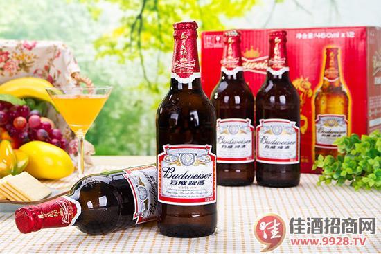 百威啤酒460ml瓶装
