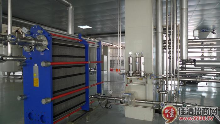 酿造用水直接冷却系统