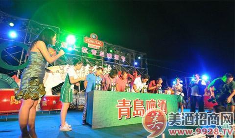 第24届青岛国际啤酒节将于8月16日至31日在青岛崂山区世纪广场啤酒城