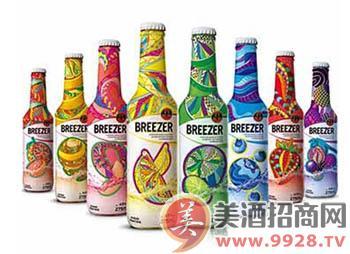 百加得(Bacardi) 冰锐朗姆预调酒 夏季限量版 (8瓶组合装)