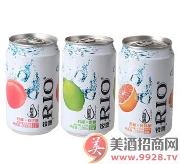RIO 锐澳 水果鸡尾酒(预调酒) 混合口味三联包 330ml*3