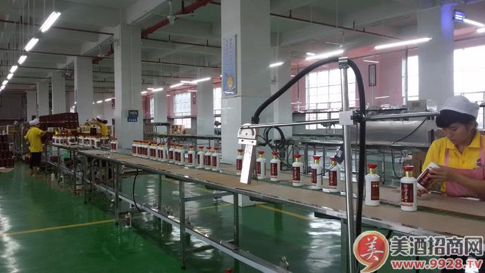 加多福酒生产线
