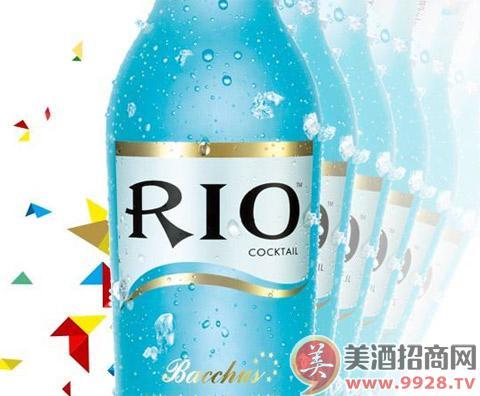 RIO锐澳鸡尾酒 2014年的财富好选择