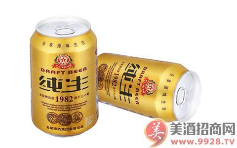 【金星啤酒纯生】价格表