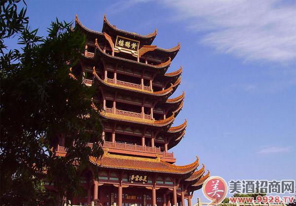 黄鹤楼是武汉市标志性建筑