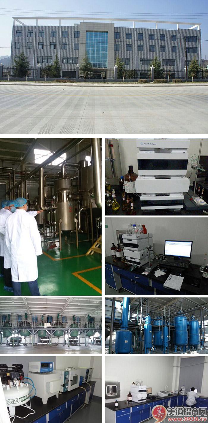河南西峡宛西酒业有限公司厂区图