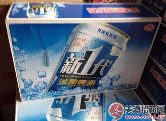 金星新一代啤酒330ml