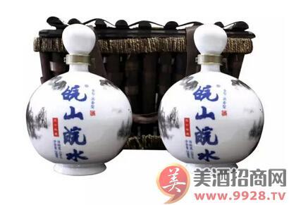 安徽皖山集团以108平米展位强势加盟2016南京糖酒会