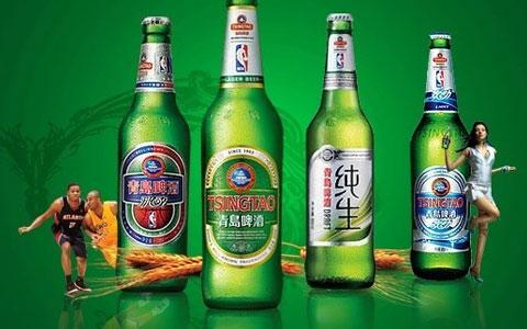 青岛啤酒中档品牌快速增长