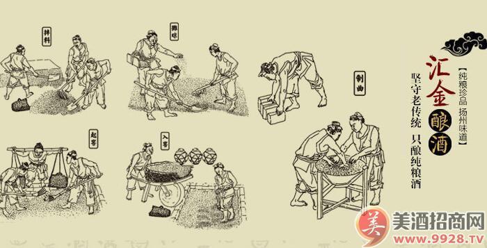 江苏汇金酿酒有限公司座落于古代文化和现代文明