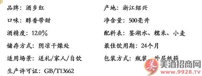 华粮老酒2.5l