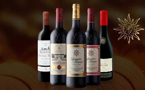 【广告】代理法国之光葡萄酒 尽享财富人生