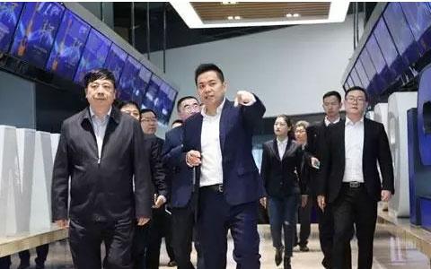 洋河股份董事长王耀带队到访1919总部 进行座谈交流