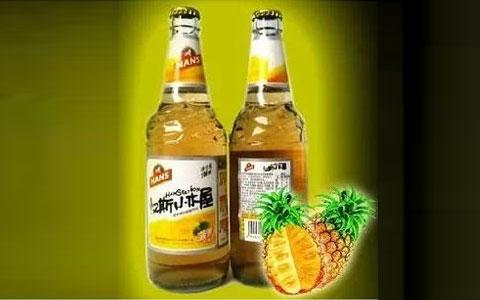 青岛啤酒宝鸡公司汉斯小木屋橙味果饮上市