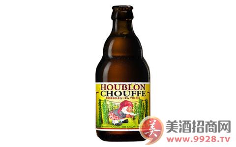 琥布朗舒弗啤酒,酒花味道浓郁!