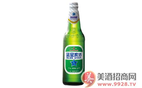 蓝星清爽啤酒,原汁原味,口味纯正!