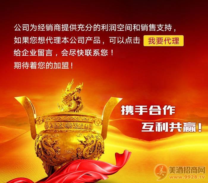 蓝工坊酒业股份有限公司招商政策