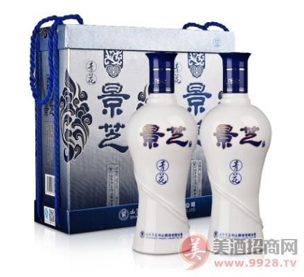 52°景芝青花500ml(双瓶装)价格