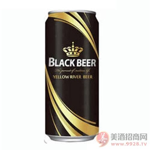 黄河啤酒黑啤罐装