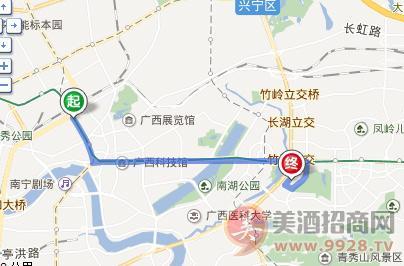 2018广西糖酒会从火车站怎么去?
